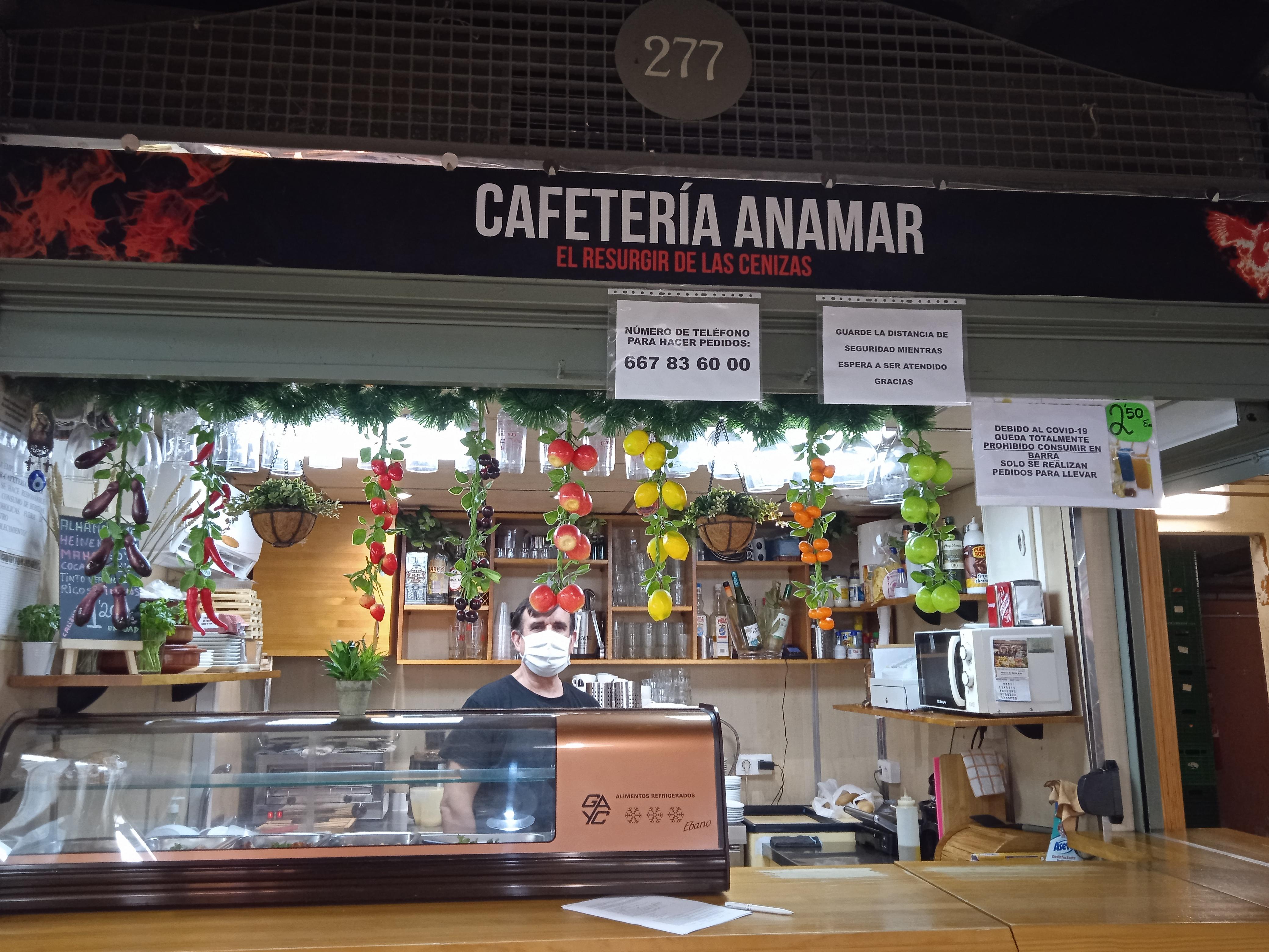 Cafetería Anamar